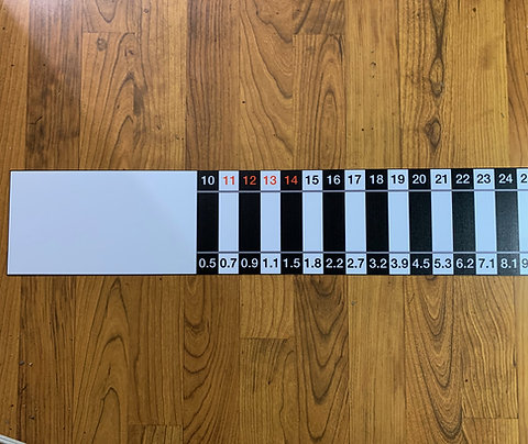LMB large relative weight sticker