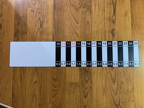 LMB large relative weight sticker