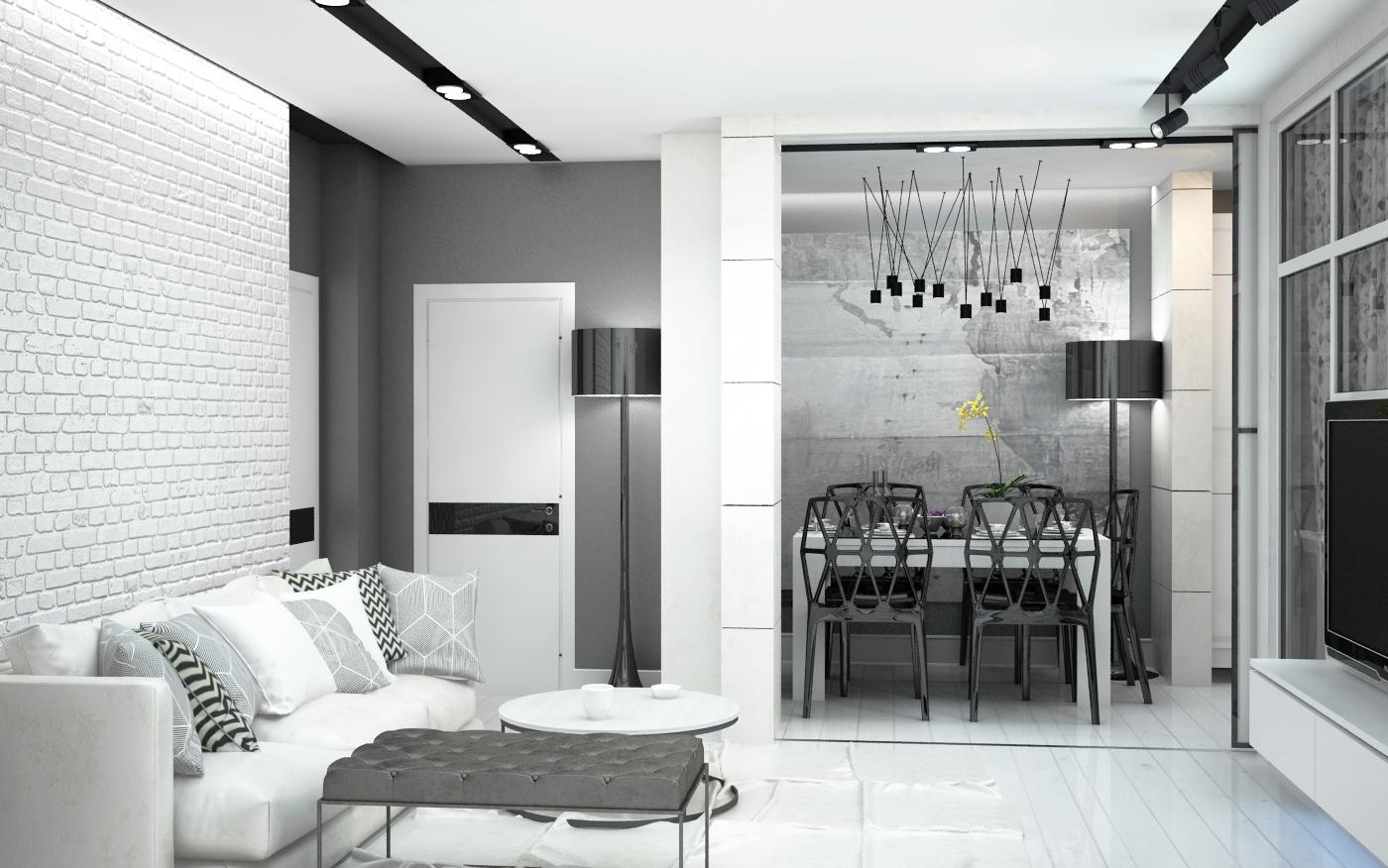 Дизайн интерьера Loft Саратов Москва