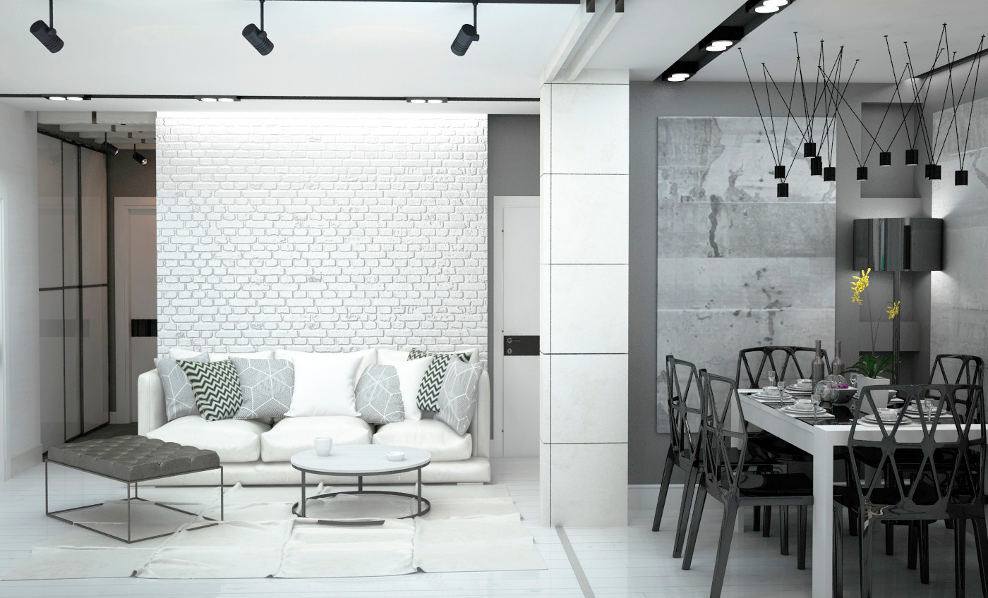 Дизайн интерьера Loft Саратов Москва (4)