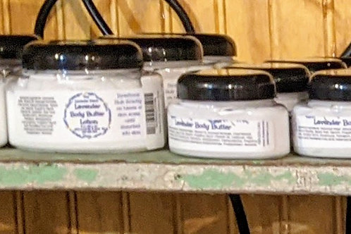Body Butter with Lavender Essential Oil