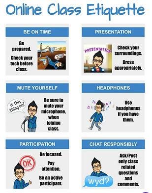 Online Class Etiquette