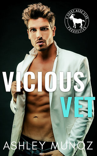 Signed Paperback of Vicious Vet