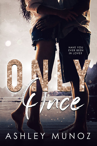 Signed Paperback of Only Once