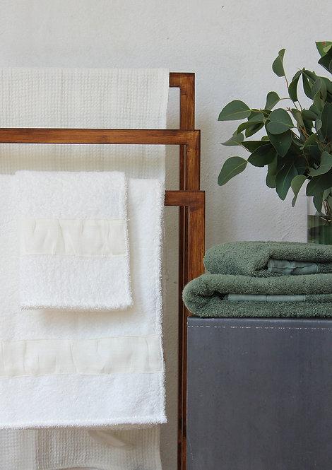 Collezione plissé asciugamani