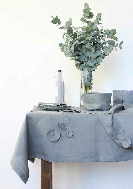 Collezione EUCALIPTO - Tessile tavola in puro lino