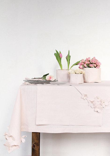 Collezione CILIEGIO - Tessile tavola in puro lino