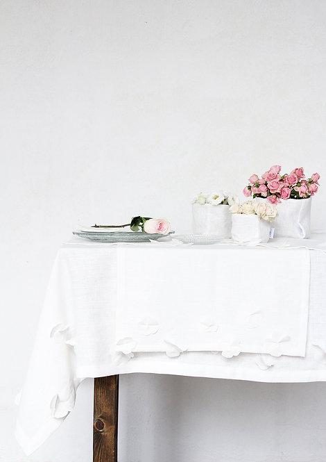 Collezione FIORI DI LINO - Tessile tavola in puro lino