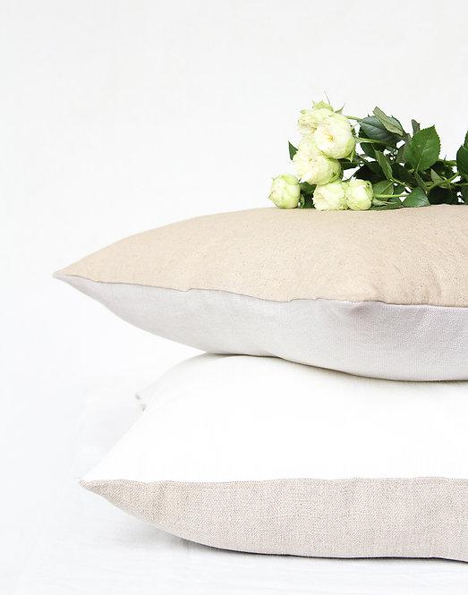 Collezione GIARDINO - Cuscini in lino e lino resinato