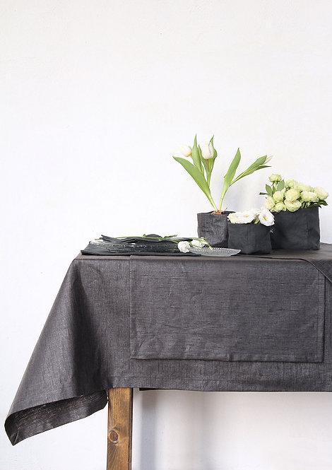 Collezione RESINATO - Tessile tavola in puro lino antimacchia