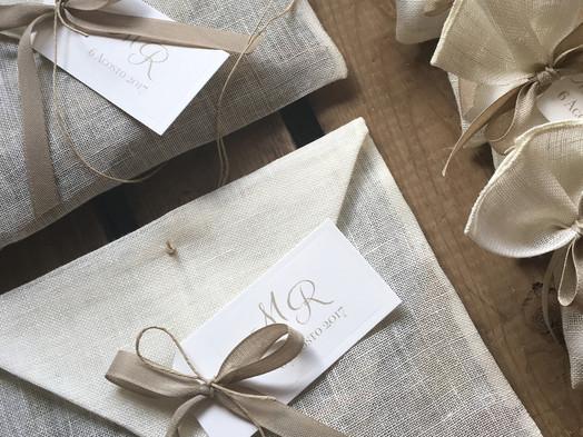 Cadeaux in puro lino