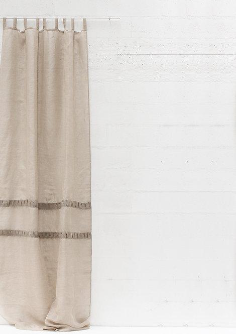Tenda collezione PLISSE' in puro lino