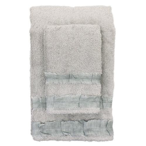 | Asciugamani ROUCHE | Spugna Grigio polvere