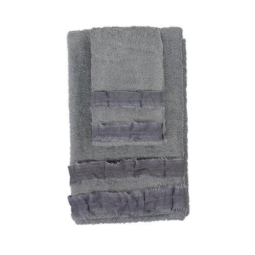 | Asciugamani ROUCHE | Spugna Cenere