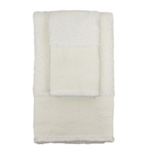 | Asciugamani STRAPPATO | Spugna Bianco