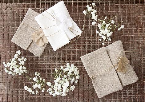 Sacchetti in lino collezione fiori di lino