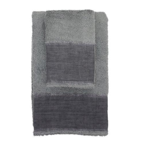 | Asciugamani STRAPPATO | Spugna Grigio cenere