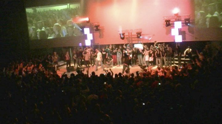 S.O.C.O.M. concert pic in Germany