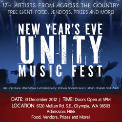 New Years Unity Music Fest