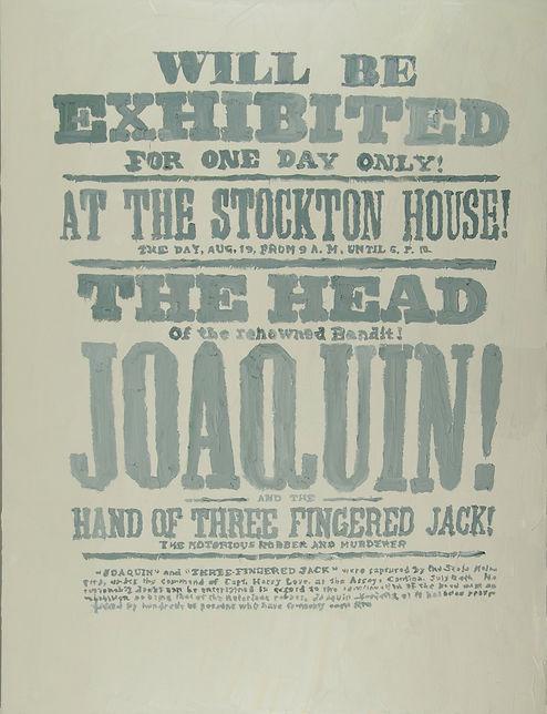 Poster Cabeza Joaquín (Quemado por el sol)