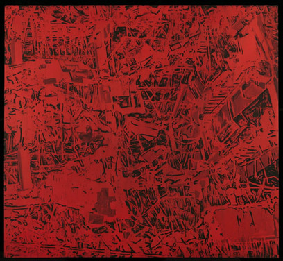 Rubble 19 (rojo), 2010