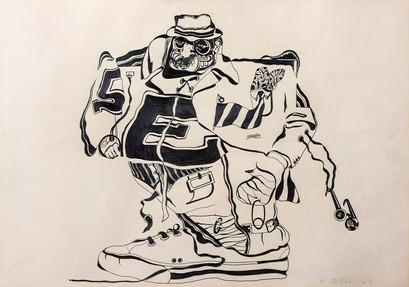 Dos (Homenaje a Walter Benjamin), 1969