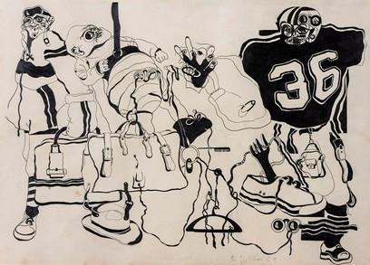 Tres (Homenaje a Walter Benjamin), 1969