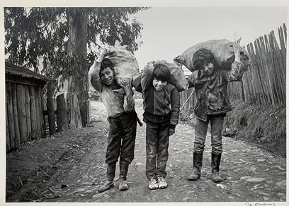 Niños. Curanilahue, 1988