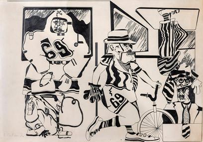 Cuatro (Homenaje a Walter Benjamin), 1970