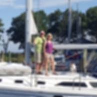 sailboat, transient, slip, looper, york river, chesapeake bay, marina