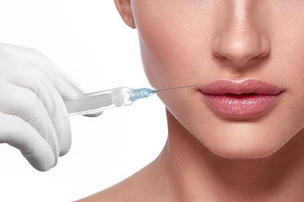 Beauty Woman face plastic surgery close