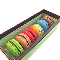 Macarons 6 pcs box