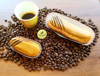 Our coffee eclair are here until Sunday