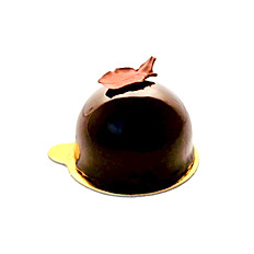 Dark chocolate entremet