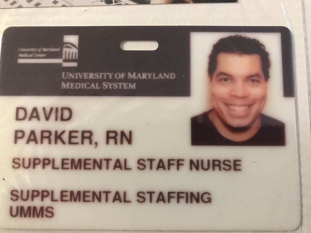 RN Employee Name Badge