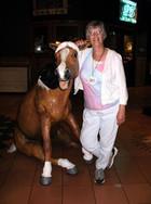 Cassandra Hopwood and her new best friend
