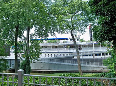 Next stop, the General Jackson Riverboat on the Cumberland River