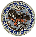 Keflavik Naval Station Maintenance Patch