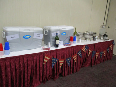 Quench your thirst in our well equipped Hospitality Roon