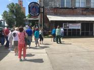 We are visiting the Ground Zero Blues cliub
