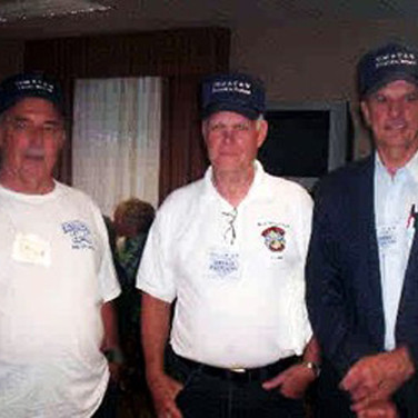 Three barracks buddies from H-4 get together to recall life at the site in 1961