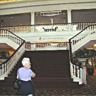 Staircase to the Gaylord Opry House