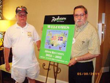 Reed Thomas & David Gillespie welcome tou to our reunion in Nashville
