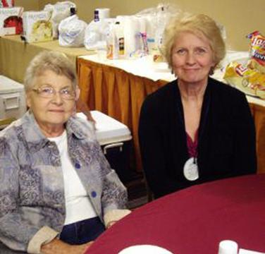 Margurite Robin & Judy Alcorn