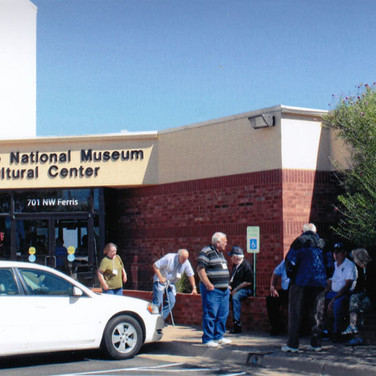 Next stop, the Comanche National Museum