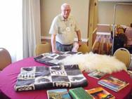 Doug Harper and his Iceland mementos