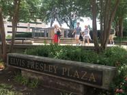 First stop, Elvis Presley Plaza