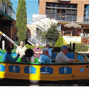 Now its time for a river cruise through the famous Bricktown River Walk