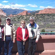 Friday Morning was a day for seeing the beutifule sites around Colorado Springs