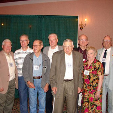 Our WW II Vets were presented with Lifetime Memberships to our group